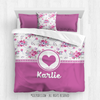Golly Girls: Floral and Lace Personalized Every Girl Comforter Or Set