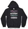 Golly Girls: Falling Down Staying Down Inspirational Hoodie
