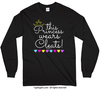 Girly This Princess Wears Cleats Long Sleeve T-Shirt (Youth-Adult) - Golly Girls