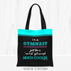 Golly Girls: I'm A Gymnast...Much Cooler Tote Bag