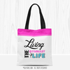 Living The Gymnast Life Tote Bag - Golly Girls