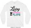 Living The Gymnast Life Long Sleeve T-Shirt (Youth-Adult) - Golly Girls