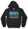 Golly Girls: No Room For Boys Gymnastics Hoodie (Youth-Adult)