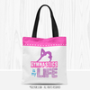 Golly Girls: Gymnastics Is My Life Tote Bag