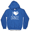 Golly Girls: I Hashtag Heart Dance Royal Blue Hoodie (Youth & Adult Sizes)