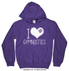 Golly Girls: I Hashtag Heart Gymnastics Hoodie (Youth & Adult Sizes)