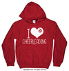 Golly Girls: I Hashtag Heart Cheerleading Hoodie (Youth-Adult)
