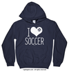 Golly Girls: I Hashtag Heart Soccer Hoodie (Youth-Adult)