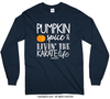 Golly Girls: Pumpkin Spice Karate Long Sleeve Navy T-Shirt (Youth & Adult Sizes)