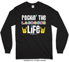 Golly Girls: Rockin' the Lacrosse Life Long Sleeve T-Shirt (Youth-Adult)