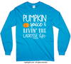 Golly Girls: Pumpkin Spice Lacrosse Long Sleeve T-Shirt (Youth-Adult)