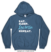 Eat Sleep Lacrosse Hoodie (Youth-Adult) - Golly Girls