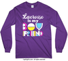 Lacrosse is my Boyfriend Long Sleeve T-Shirt (Youth-Adult) - Golly Girls
