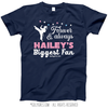 Golly Girls: Personalized Biggest Fan Martial Arts Navy T-Shirt (Youth-Adult)