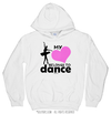 My Heart Belongs to Dance Hoodie (Youth-Adult) - Golly Girls