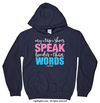 Golly Girls: My Tap Shoes Speak Hoodie (Youth-Adult)