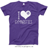 Golly Girls: I Hashtag Heart Gymnastics T-Shirt (Youth & Adult Sizes)