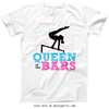 Golly Girls: Queen Of The Bars T-Shirt (Youth-Adult)