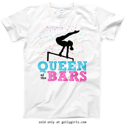 Golly Girls: Queen Of The Bars T-Shirt (Youth & Adult Sizes)