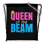 Golly Girls: Queen of the Beam Drawstring Backpack