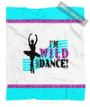 Golly Girls: Wild About Dance Fleece Throw Blanket