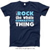 Golly Girls: I Rock The Gymnastics Thing T-Shirt (Youth & Adult Sizes)