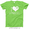 Golly Girls: I Hashtag Heart Gymnastics T-Shirt (Youth-Adult)