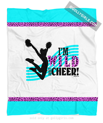 Golly Girls: Wild About Cheer Fleece Blanket