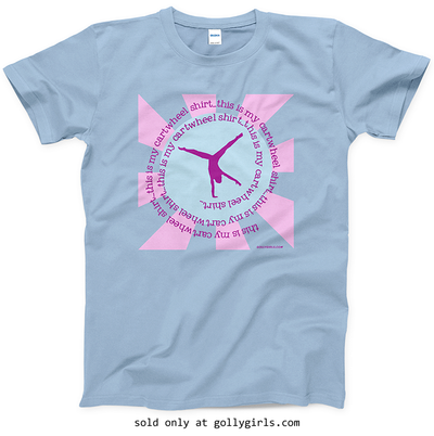 Golly Girls: This Is My Cartwheel Shirt T-Shirt (Youth & Adult Sizes)