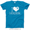 Golly Girls: I Hashtag Heart Cheerleading T-Shirt (Youth & Adult Sizes)