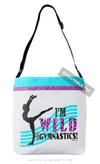 Golly Girls: Wild About Gymnastics Shoulder Tote Bag