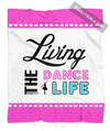 Golly Girls: Living The Dance Life Fleece Throw Blanket