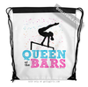 Golly Girls: Queen of the Bars Drawstring Backpack