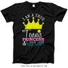 Golly Girls: Tennis Princess T-Shirt (Youth-Adult)
