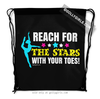 Golly Girls: Reach For The Stars Drawstring Backpack