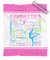Pastel Gymnastics Typography Fleece Blanket