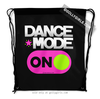 Golly Girls: Dance Mode On Drawstring Backpack