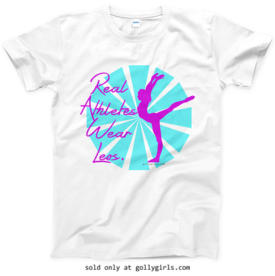 Golly Girls: Real Athletes Wear Leos T-Shirt (Youth & Adult Sizes)
