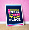 "Golly Girls: The Dance Floor Is My Happy Place 16"" x 20"" Poster"