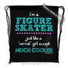 Golly Girls: I'm a Figure Skater... Cooler Drawstring Backpack