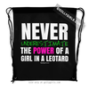 Golly Girls: Never Underestimate A Girl In A Leotard Drawstring Backpack