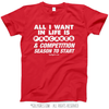 Golly Girls: Pancakes and Competition Season Red T-Shirt (Youth & Adult Sizes)