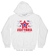 Golly Girls: Patriotic Stars Softball Hoodie (Youth-Adult)