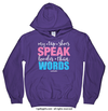 Golly Girls: My Tap Shoes Speak Hoodie (Youth & Adult Sizes)
