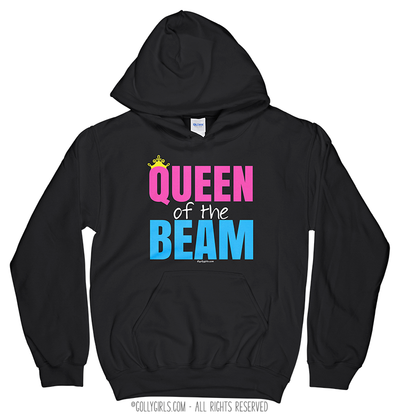Golly Girls: Queen of the Beam Black Hoodie (Youth-Adult)