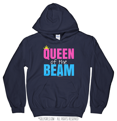 Golly Girls: Queen of the Beam Navy Hoodie (Youth-Adult)