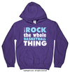 Golly Girls: I Rock The Whole Basketball Thing Hoodie (Youth-Adult)