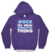 Golly Girls: I Rock The Gymnastics Thing Hoodie (Youth-Adult)
