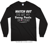 Golly Girls: Sassy Pants Long Sleeve Black T-Shirt (Youth & Adult Sizes)