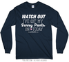 Golly Girls: Sassy Pants Long Sleeve Navy T-Shirt (Youth & Adult Sizes)